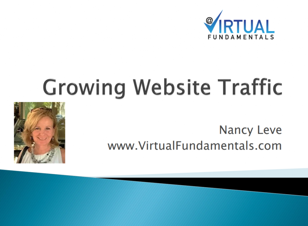 Growing Website Traffic: SEO Virtual Fundamentals